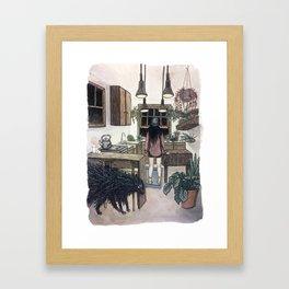 A horticulturist's spirit Framed Art Print