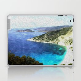 Greek coastline Laptop & iPad Skin