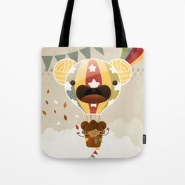 Chestnut Girl Balloon!!! Tote Bag