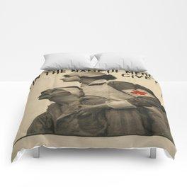 Vintage poster - Red Cross Comforters