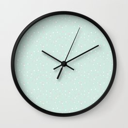 Baby green Wall Clock