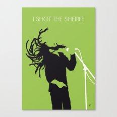 No016 MY Marley Minimal Music poster Canvas Print