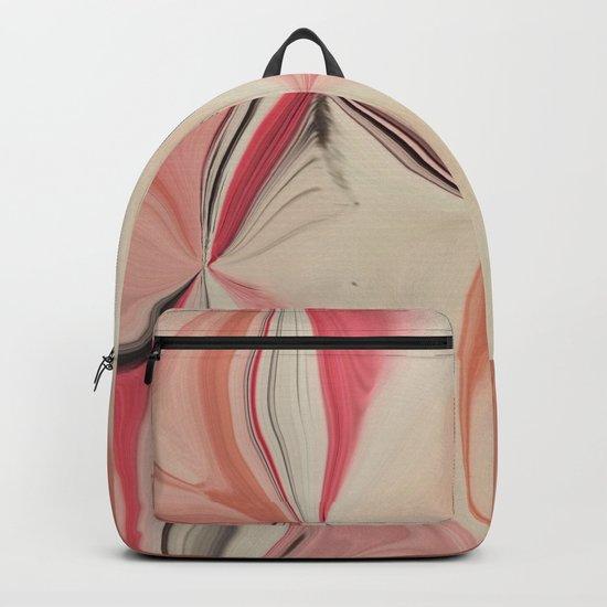 Serenity #2 #Pink #Rose #Orange #decor #art #society6 Backpack