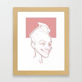 PinkToo Framed Art Print