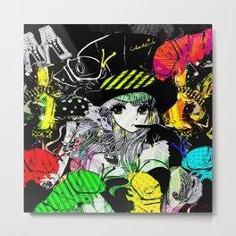 MAD ALICE: Gummi Party Metal Print