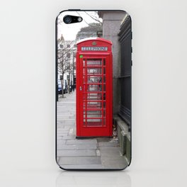 London Phone Booth iPhone Skin