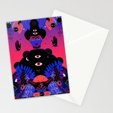 Noche Tropical  de Frida Stationery Cards