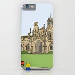Cambridge struggles: St Johns iPhone Case