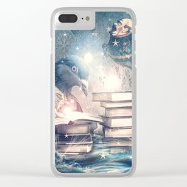 Mystery and Magic Clear iPhone Case