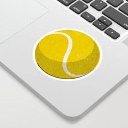 BALLS / Tennis (Hard Court) Sticker