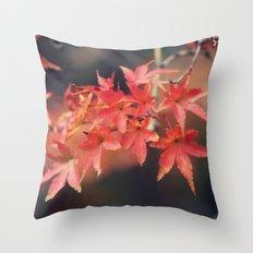 Scarlet Throw Pillow
