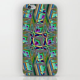 Abstract BB ZZ iPhone Skin