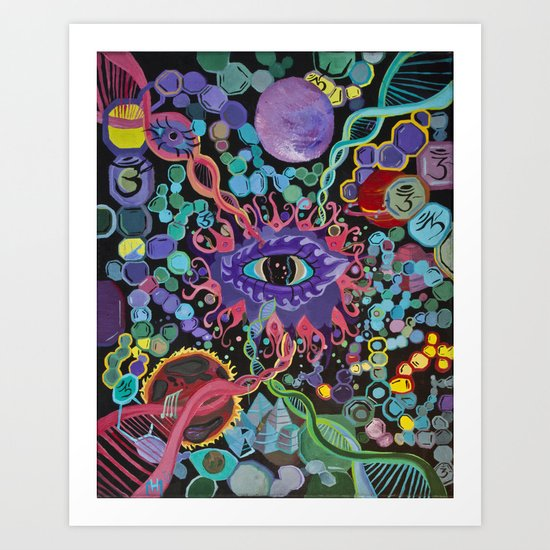 """""""The Cleansing"""" Art Print"""