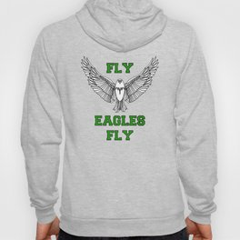 fly eagles fly philadelphia Hoody