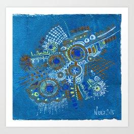 Feather Symbol Art Print