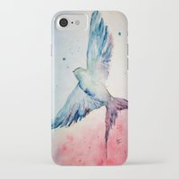 flight iPhone & iPod Cases featuring Flight by Megan Hunter