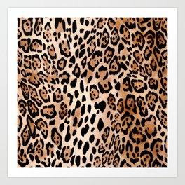 SAFARI LEO Art Print
