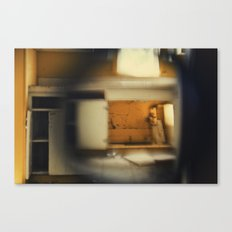 someone else's kitchen Canvas Print