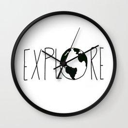Explore the Globe x BW Wall Clock