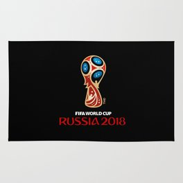 Russia 2018 FIFA World Cup Logo Rug