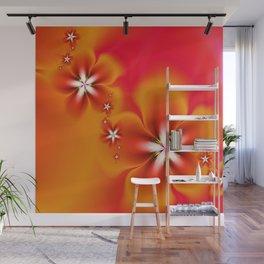 Fleur d'Automne Fractal Wall Mural