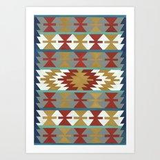 kilim II Art Print