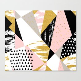 Abstract GBP Canvas Print