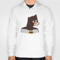 bat man Hoodies featuring Bat Man by Ryder Doty