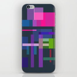 Imitation Mid-20th Century Abstraction, No. 3 iPhone Skin