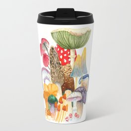 Woodland Mushroom Society Travel Mug