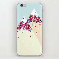twin peaks iPhone & iPod Skins featuring Twin Peaks by Attitude Creative