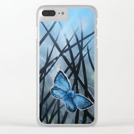 Westhay Butterfly 2 Clear iPhone Case