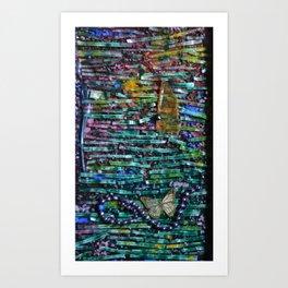 Writer's Block 1 of 2 Art Print