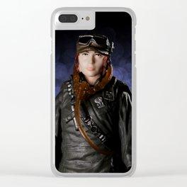 Star Portrait: Jyn Erso Clear iPhone Case