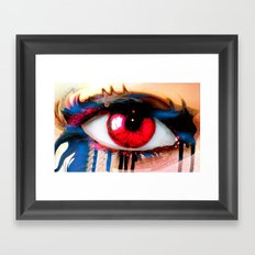 Window Of The Soul - Love Framed Art Print