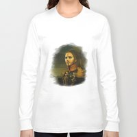 tim shumate Long Sleeve T-shirts featuring Tim Minchin - replaceface by replaceface