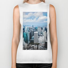 From New York to the Sky at the Manhattan Big Apple Dream Biker Tank