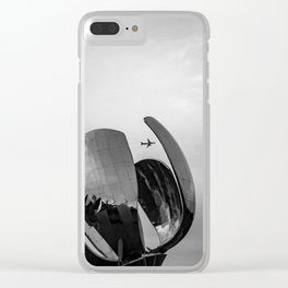 Right on time Clear iPhone Case