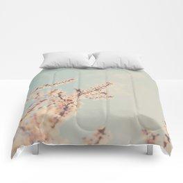 spring is in bloom ...  Comforters