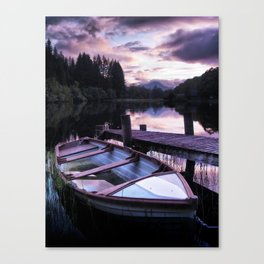 Summer's Evening On Loch Ard Canvas Print