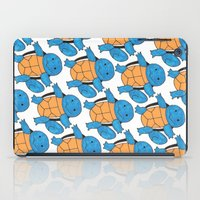 squirtle iPad Cases featuring  1 Squirtle, 2 Squirtle, 3 Squirtle, 4 by pkarnold + The Cult Print Shop