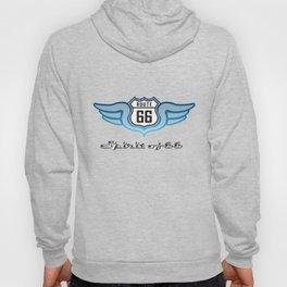 Winged Spirit of Route 66 Hoody
