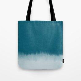 dark cyan watercolor Tote Bag