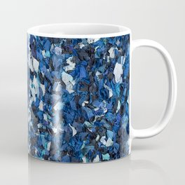 Blue Party Confetti Coffee Mug