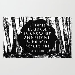 Courage (Designed for The YA Chronicles) Rug