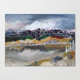 The Glass Lake Canvas Print