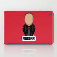 crowley iPad Cases featuring 4 Crowley by Alice Wieckowska