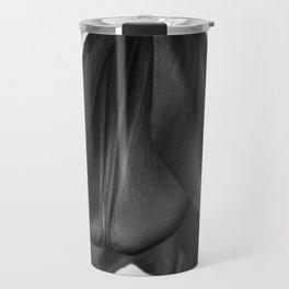 Black tulip Travel Mug