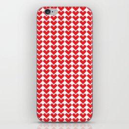 Crafty Hearts iPhone Skin
