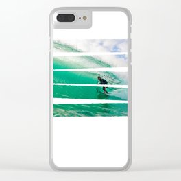 Chillin' in the tube Clear iPhone Case